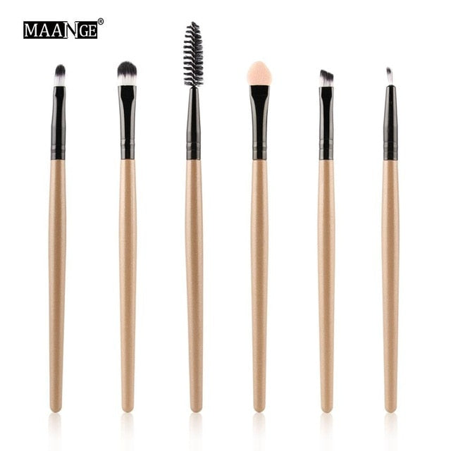 Makeup Brushes Tool Set Cosmetic Powder Eye Shadow Foundation - trendymal.com