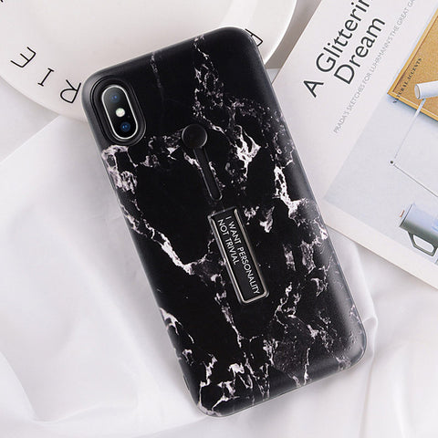 USLION Marble Case For iPhone 7 Plus XR XS Max Hi