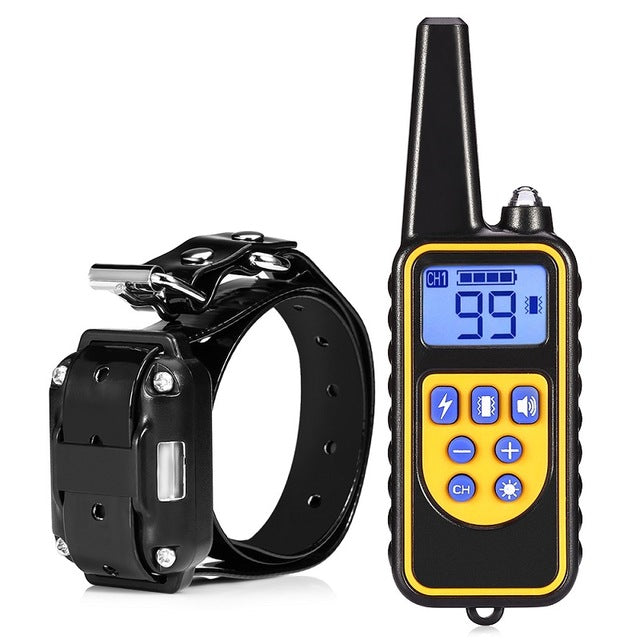 2 Receivers Electric Pet Dog Training Collar - trendymal.com