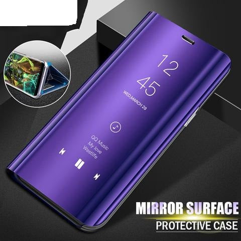 Smart Mirror Flip Phone Case For Samsung Galaxy - trendymal.com