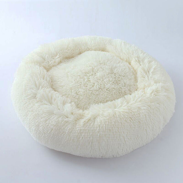 Round Dog Bed Washable Pet House Lounger Sofa for Dogs - trendymal.com