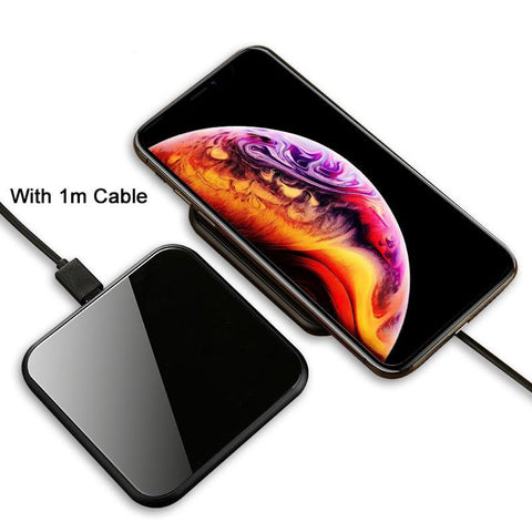 Fast Wireless Charger For iPhone & Sumsung - trendymal.com