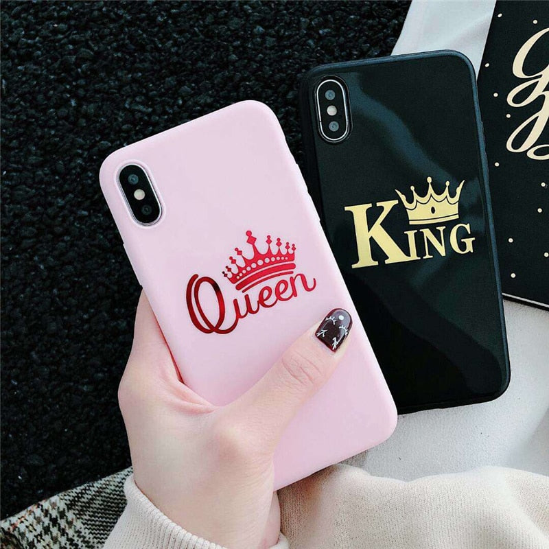Luxury Couple Case For iPhone - trendymal.com
