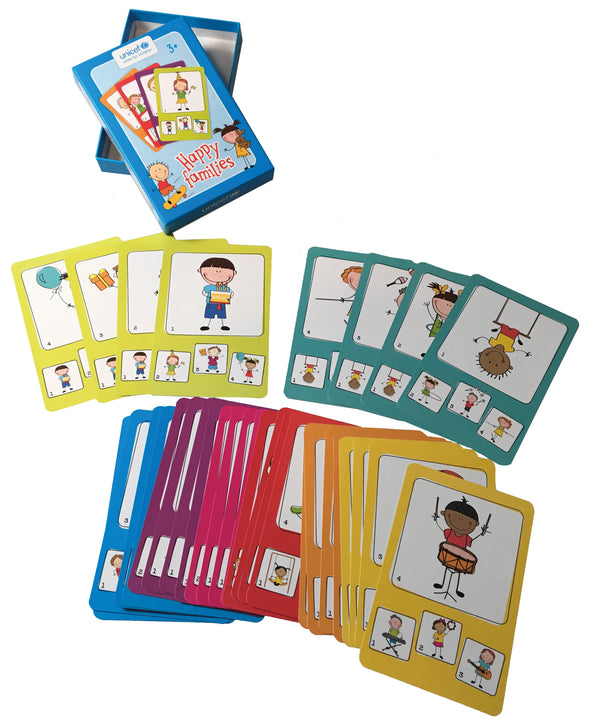"Jeu de cartes ""Happy Families"""