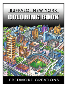 Buffalo Rising Magazine - Predmore Creations Coloring Book