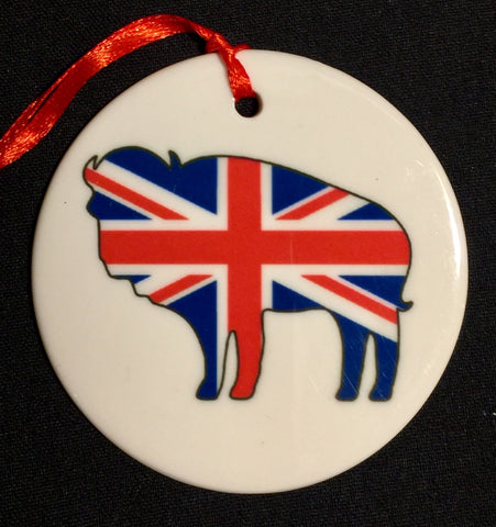 england buffalo christmas ornament, buffalove, 716 Buffalo ny, buffalo glassware, billieve, buffalo gifts