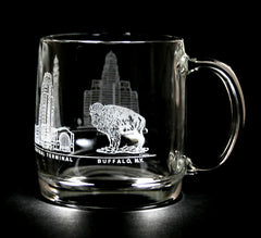 4 Buffalo Images  Coffee Mug