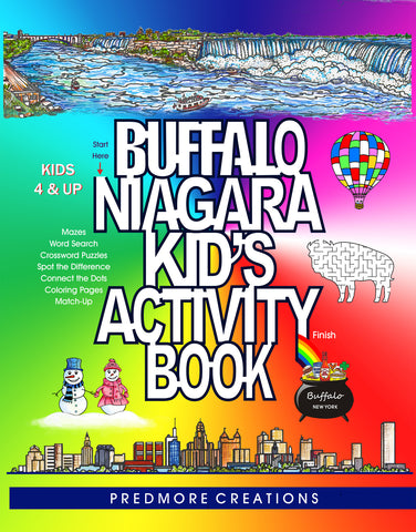 BUFFALO NIAGARA KID'S ACTIVITY BOOK