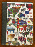 Buffalo Themed Notebook