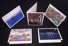 Buffalo NY Notecards - Set 4