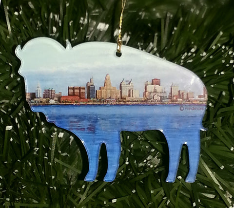 BUFFALO SKYLINE ORNAMENT