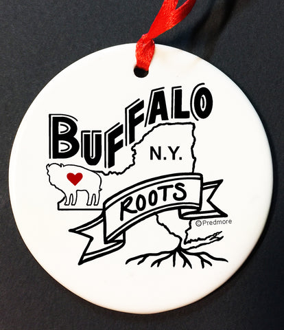 BUFFALO NY ROOTS ORNAMENT