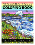Niagara Falls Coloring Book - Digital Printable Download