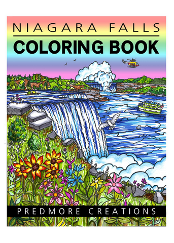 NIAGARA FALLS COLORING BOOK