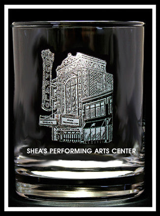 Shea's Performing Arts Rocks Glass