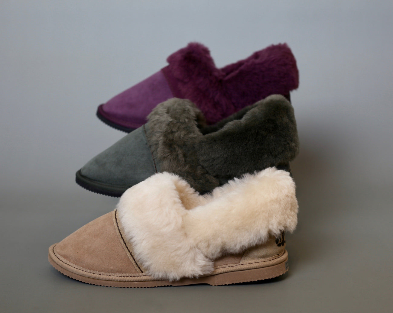 Aussie Uggs, Brindabella - Easy slip-on design. Genuine double face sheepskin. Durable hard rubber/EVA sole. Handmade in Australia