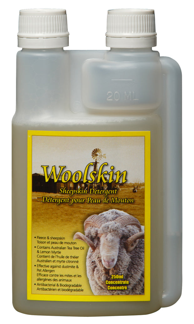 Tantech Woolskin shampoo and woolwash