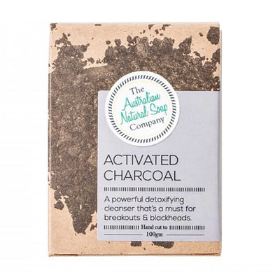 ANSC Gentle Exfoliating Face Soap - Activated Charcoal (100g)