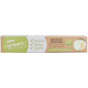 Agreena 3-in-1 Reusable Food Wraps (4 Pack)