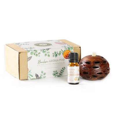 Banksia Gifts Gift Box Set - Mini Aroma with Mandarin Oil