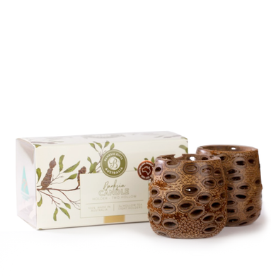 Banksia Gifts Hollow Tea Light Holders (2 Pack)