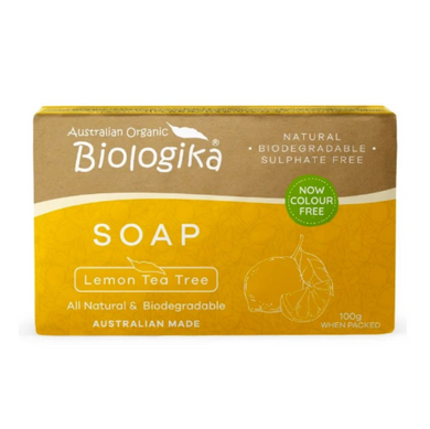 Biologika Soap Lemon Tea Tree  (100g)