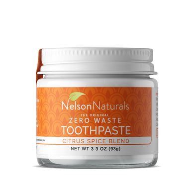 Nelson Naturals Zero Waste Toothpaste - Citrus Spice Blend (60ml)