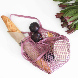 Wombat String Cotton Bag - Natural