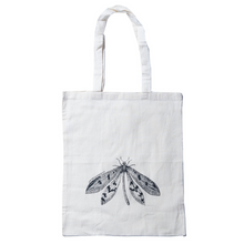 Load image into Gallery viewer, Calico Tote Bag - Dragonfly