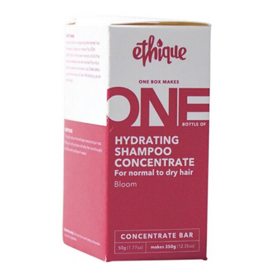 Ethique Concentrate Shampoo - Hydrating For Normal to Dry Hair - Bloom (50g)