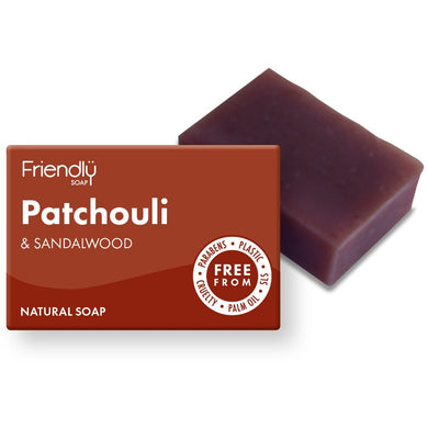 Friendly Soap Patchouli and Sandalwood Natural Soap Bar
