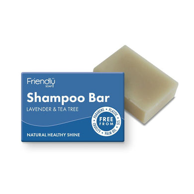 Friendly Soap Natural Shampoo Bar - Lavender and Tea Tree