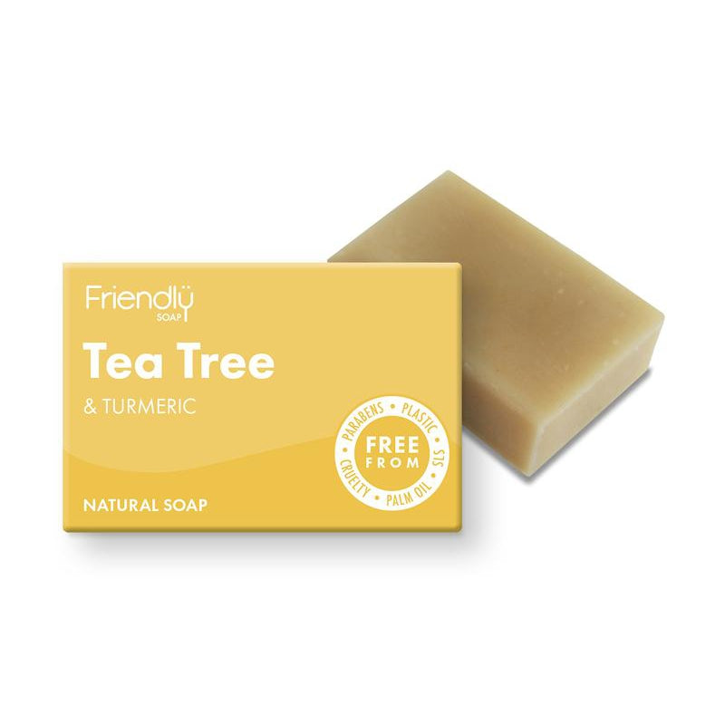 Friendly Soap Tea Tree and Turmeric Natural Soap