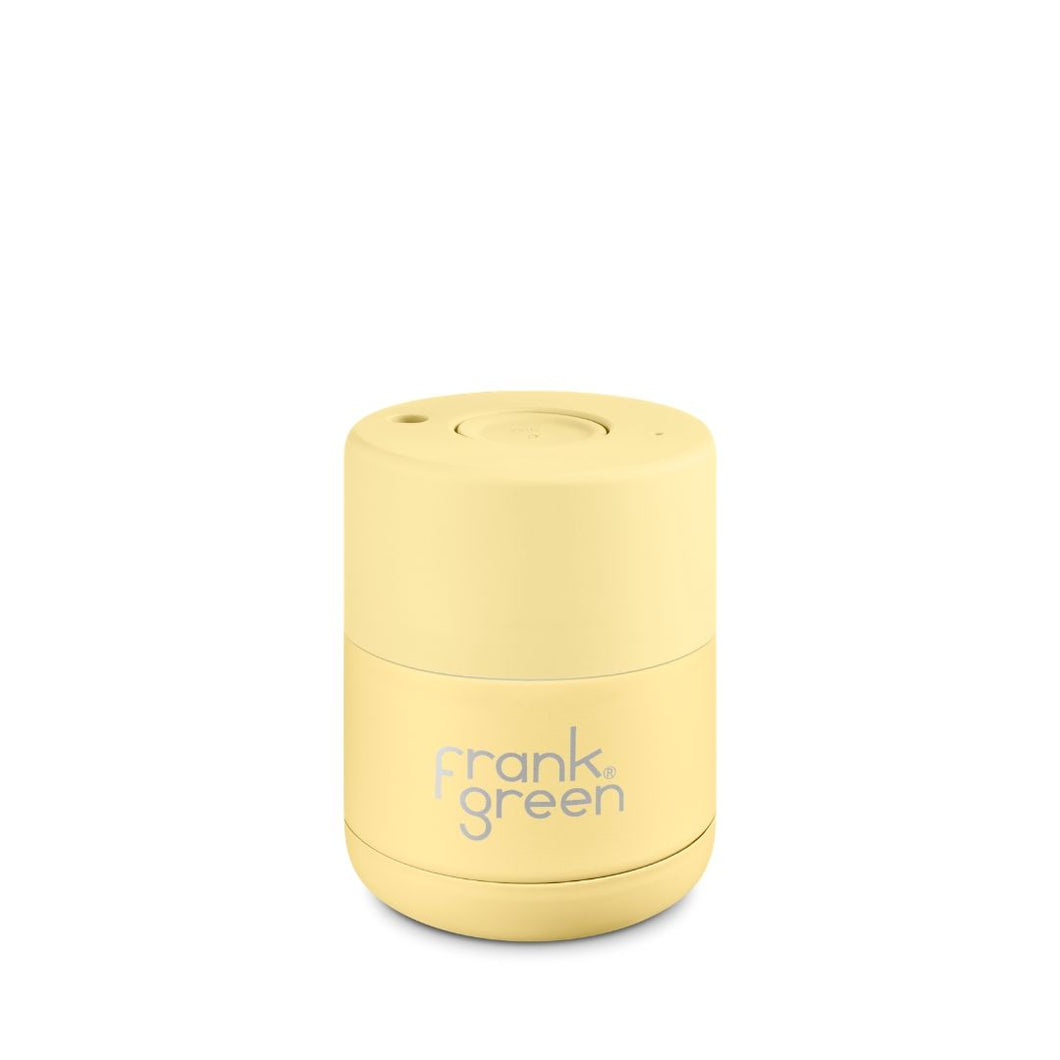 Frank Green Ceramic Reusable Cup 175ml (6oz) - Buttermilk Yellow
