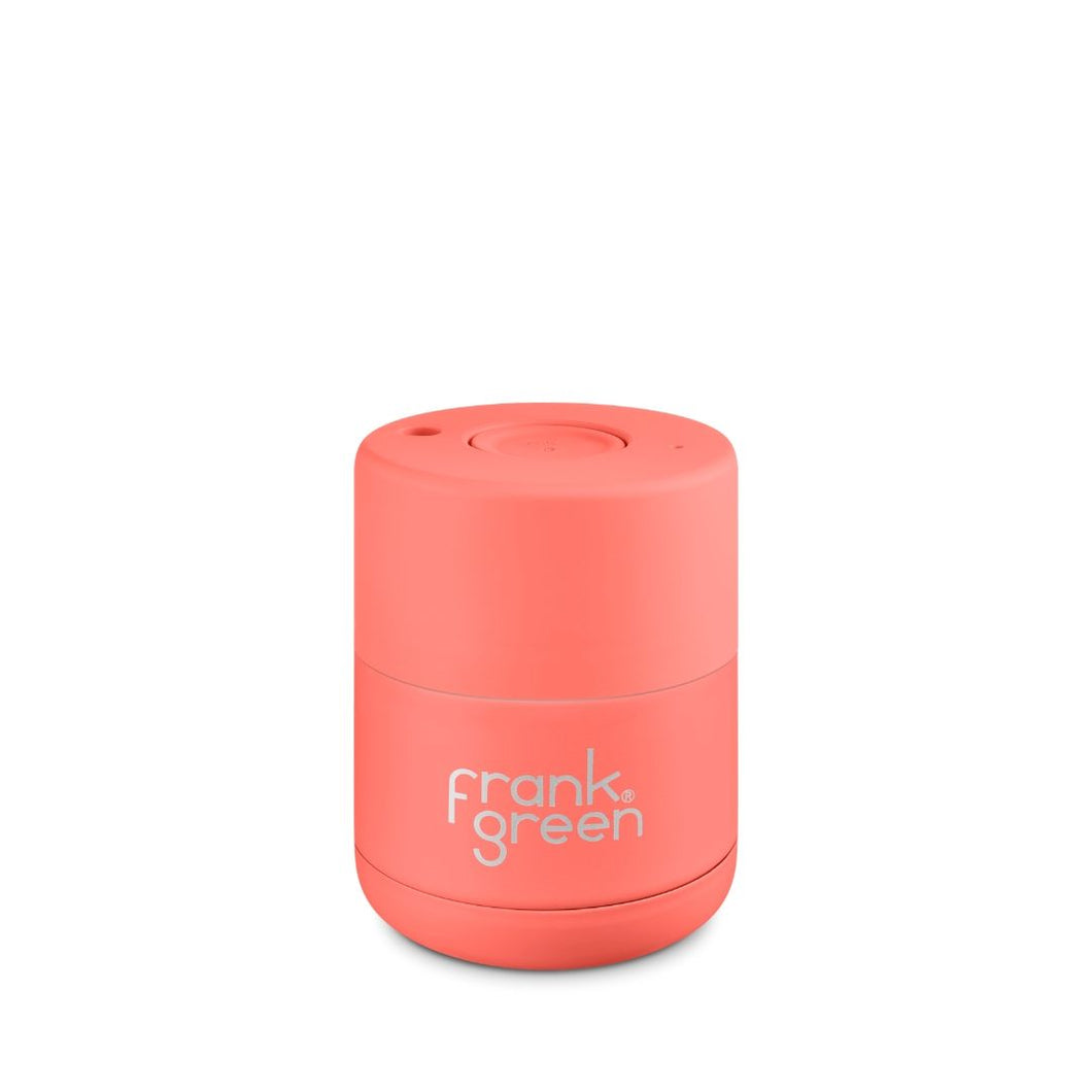 Frank Green Ceramic Reusable Cup 175ml (6oz) - Living Coral