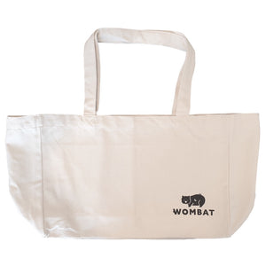 Wombat Reusable Canvas Pocket Shopping Bag