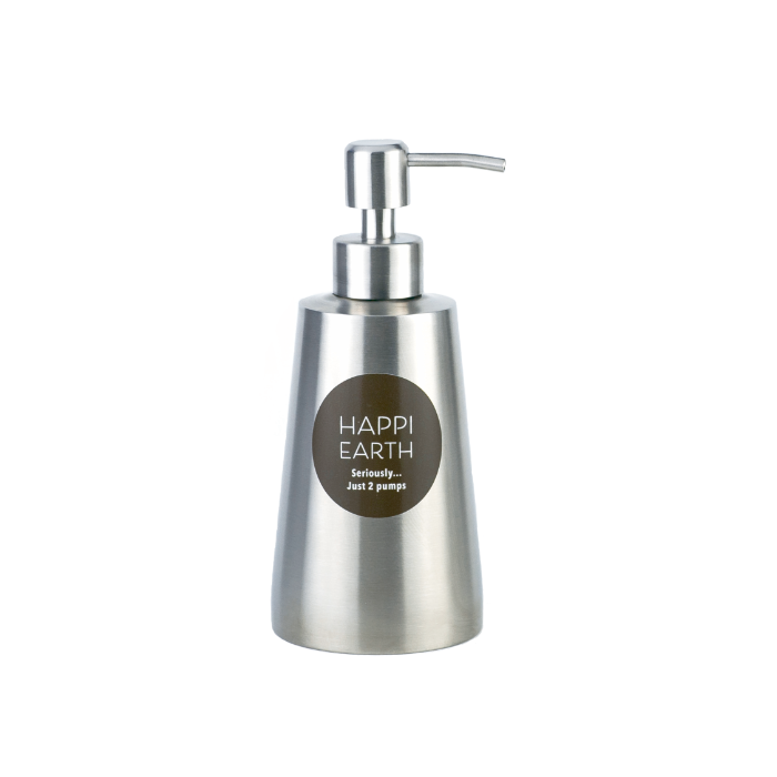 Happi Earth Refill Bottle - Stainless Steel