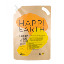 Load image into Gallery viewer, Happi Earth Laundry Liquid Ultra Concentrate - 1 Litre (400 Washes / 1 Year)