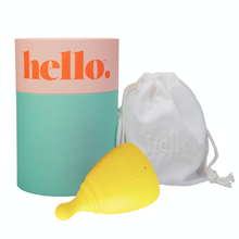Load image into Gallery viewer, Hello Menstrual Cup - Large Fuschia
