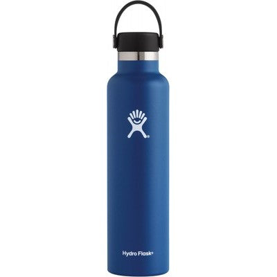 Hydro Flask Insulated Stainless Steel Drink Bottle (709ml) - Standard Mouth Cobalt