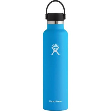 Hydro Flask Insulated Stainless Steel Drink Bottle (709ml) - Standard Mouth Pacific