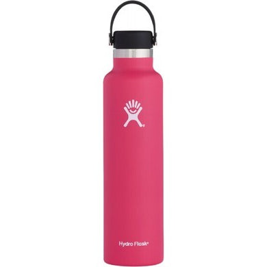 Hydro Flask Insulated Stainless Steel Drink Bottle (709ml) - Standard Mouth Watermelon