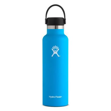 Hydro Flask Insulated Stainless Steel Drink Bottle (621ml) - Standard Mouth Pacific