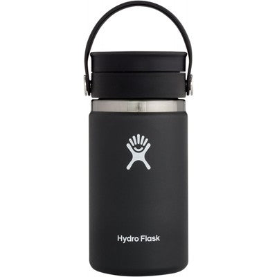 Hydro Flask Wide Mouth Coffee Flask (354ml) - Black