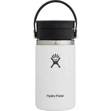 Hydro Flask Wide Mouth Coffee Flask (354ml) - White