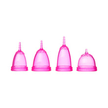 Load image into Gallery viewer, JuJu Menstrual Cup - Pink-Menstrual Cups-MintEcoShop