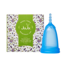 Load image into Gallery viewer, JuJu Menstrual Cup - Blue-Menstrual Cups-MintEcoShop