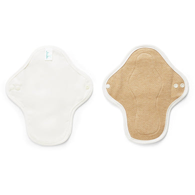 JuJu Reusable Cloth Pad - Mini (Organic or Pure Cotton)-Pads & Liners-MintEcoShop
