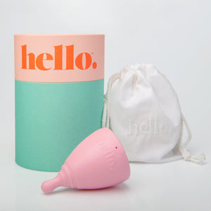 Hello Menstrual Cup - Large Blush