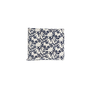 Reusable Shopping Bag with Long Handle - Cotton Lilly Pilly Indigo